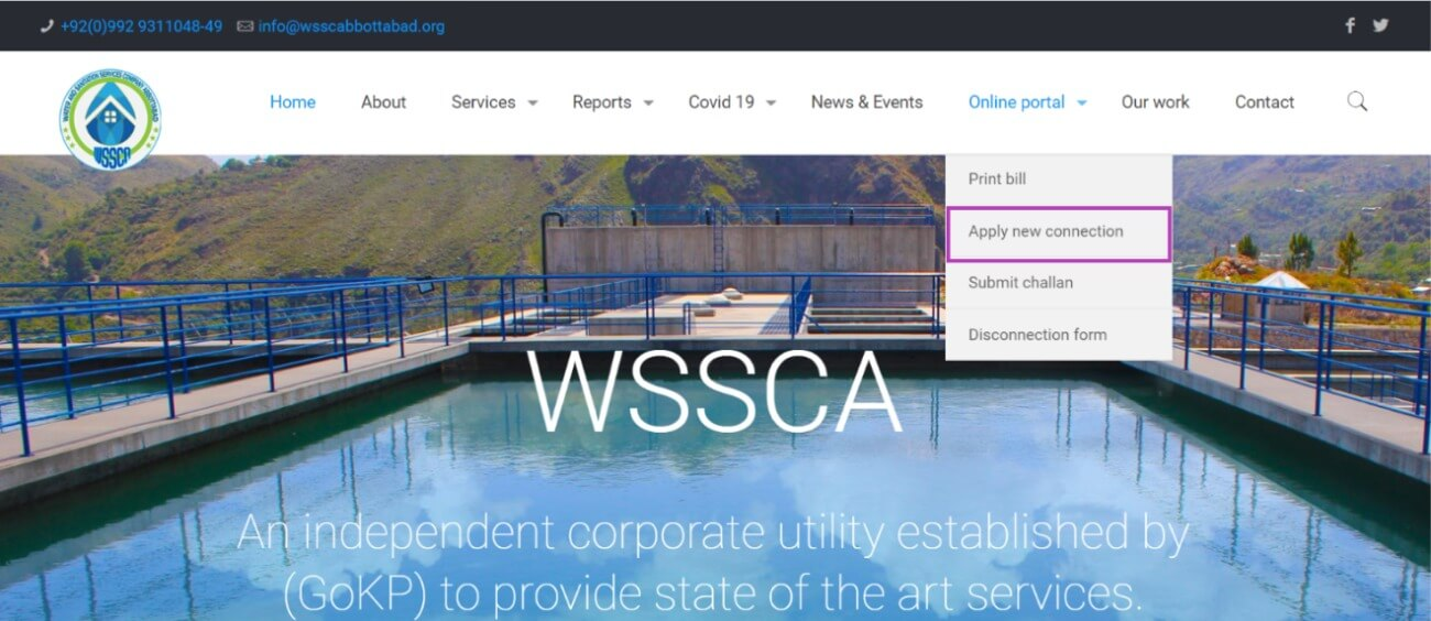 Apply new connection wssca